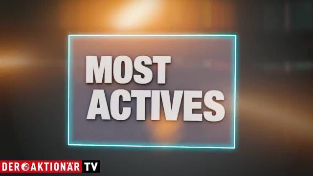 Most Actives - Deutsche Bank, ThyssenKrupp und Infineon