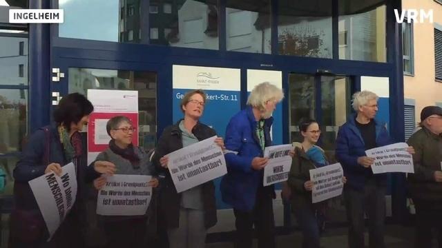 Ingelheim: Demonstration gegen Abschiebepraxis