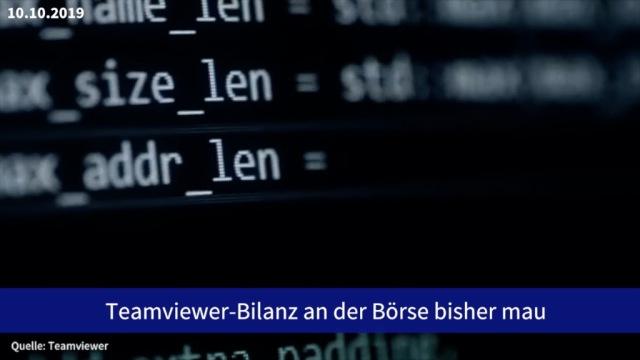 Aktie im Fokus: Teamviewer-Bilanz nach Börsengang mau
