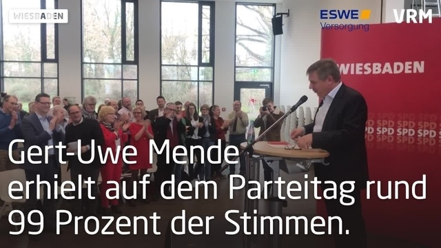 SPD kürt Mende zum Kandidaten für Wiesbadener OB-Wahl
