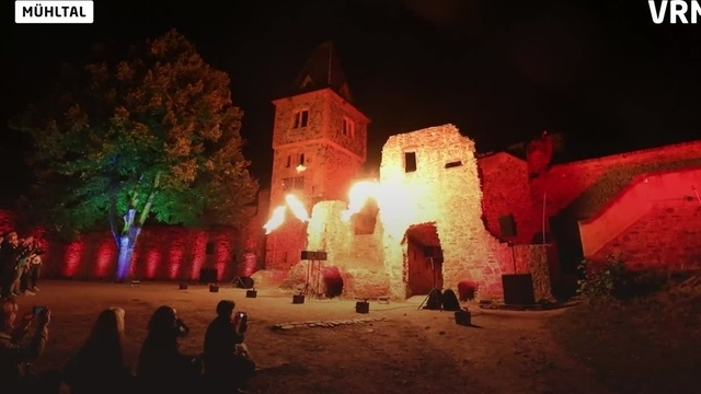 Burg Frankenstein feiert Jubiläum