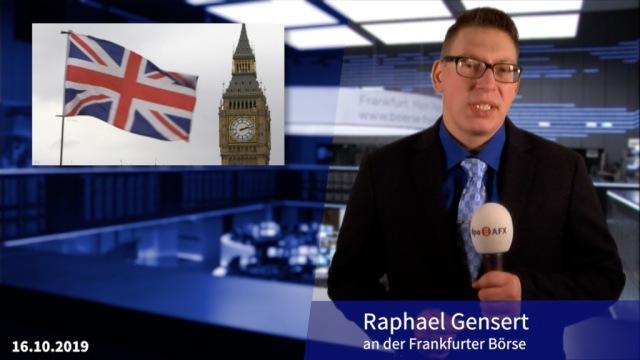 Hoffnung auf Brexit-Abkommen stützt Aktienmärkte