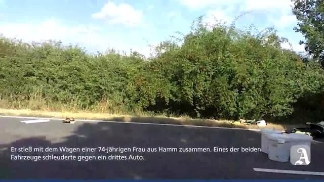 Schwerer Verkehrsunfall auf B9 bei Dienheim