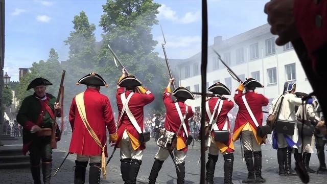 300 Kostümierte stellen Schlacht um Dillenburg nach