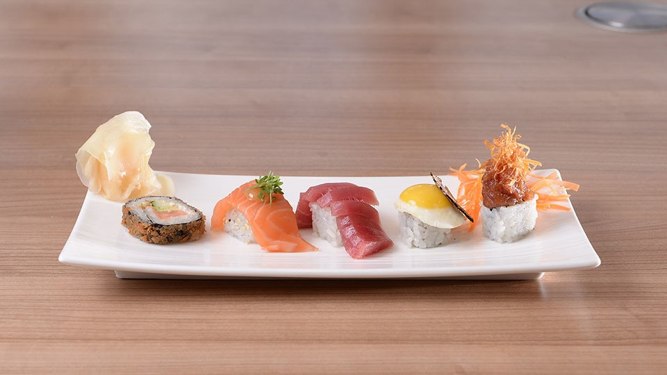 """Sushi """"Big Volcano Roll"""""""