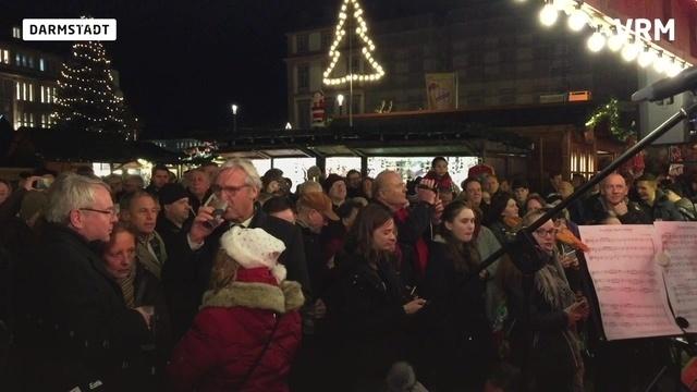 Der Darmstädter Weihnachtsmarkt ist eröffnet