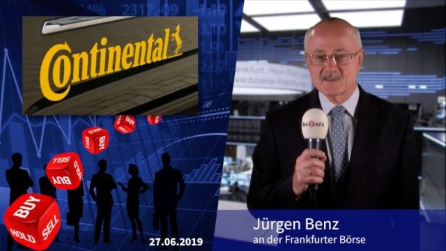 Analyser to go: Continental wegen anhaltender Krise heruntergestuft
