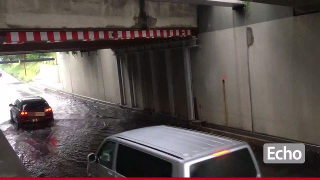 Schweres Unwetter im Kreis Bergstraße