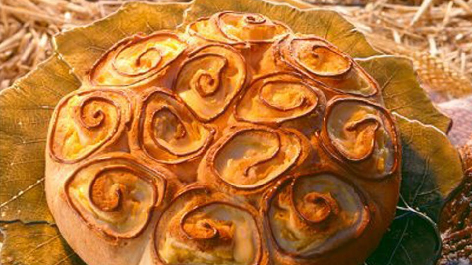 Ananas-Rosenkuchen