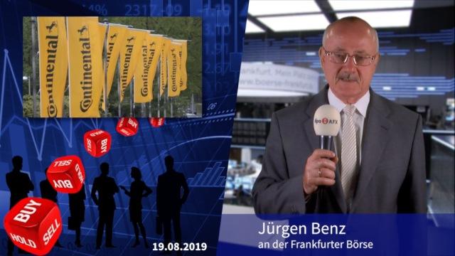 Analyser to go: Continental mit Druckverlust - Herabstufung