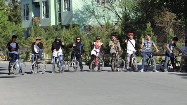 Der erste BMX-Club von Kabul