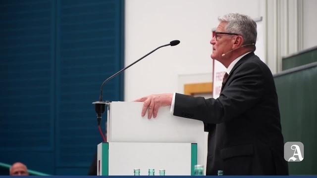 Mainz: Joachim Gauck an der Uni