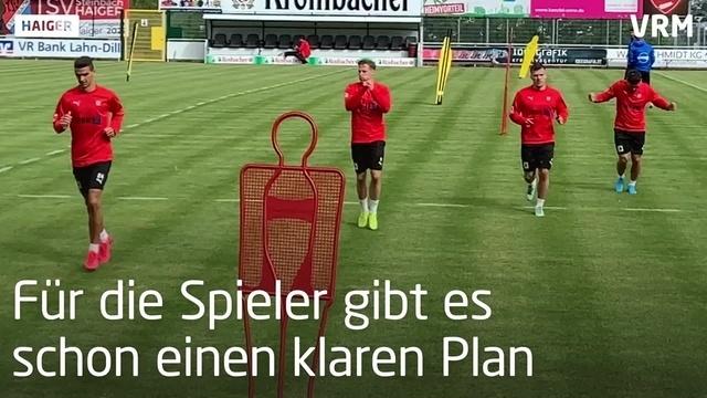 Trainingsauftakt des TSV Steinbach-Haiger