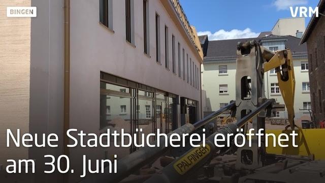 Bingen: So sehen die Räume der neuen Stadtbücherei aus