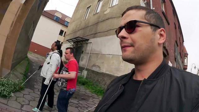 Blind durchs Leben