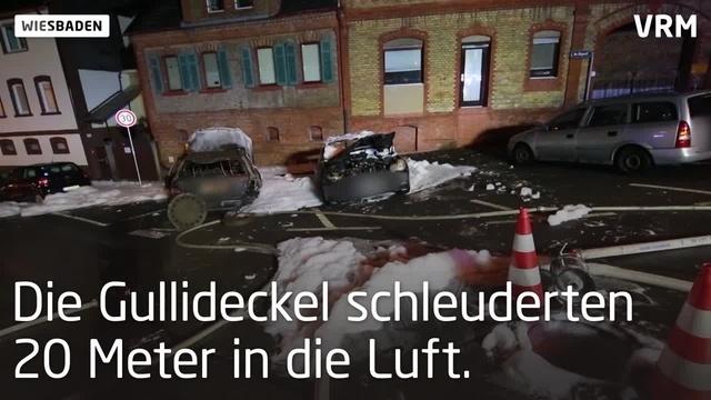 Rambach: Verletzte Einsatzkräfte durch Explosion