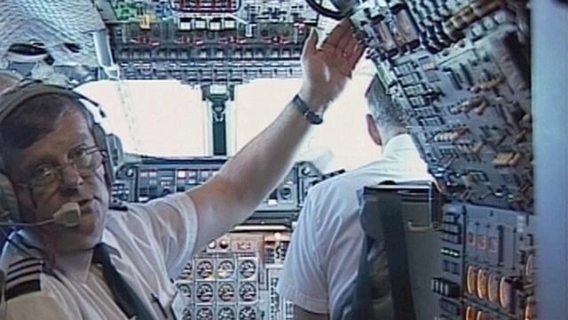 Mit der Concorde von New York nach London (2)