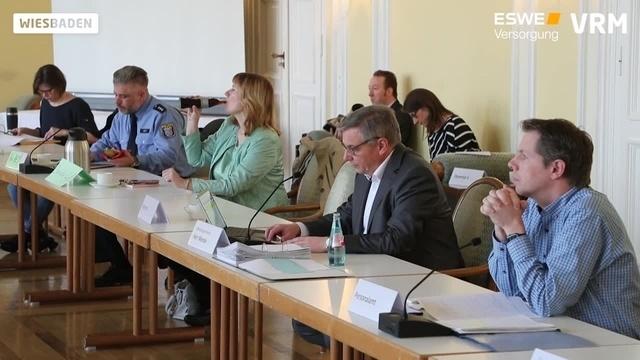 Arbeit des Corona-Verwaltungsstabes der Stadt Wiesbaden