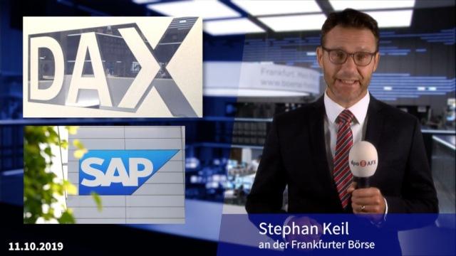 Die gute Laune bleibt - SAP und Hugo Boss im Blick