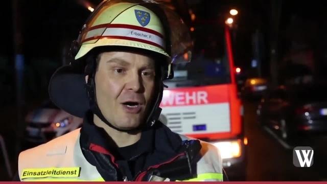 Wiesbaden: Balkonbrand in der Bingertstraße