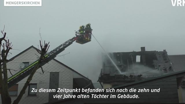 Zwei Kinder sterben bei Hausbrand in Mengerskirchen