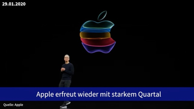 Aktie im Fokus: Apple erfreut wieder mit starkem Quartal