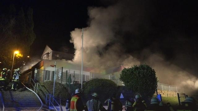 Neckarsteinach: Kindergarten brennt ab
