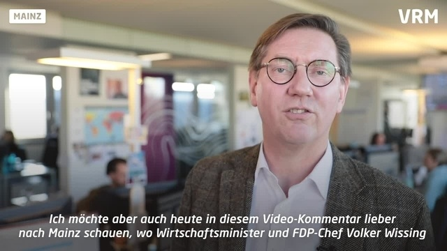 Roeinghs Ratschlag an FDP-Landeschef Volker Wissing