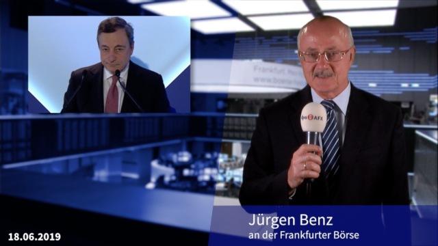 Draghi befeuert die Börsen mit Sintra-Rede