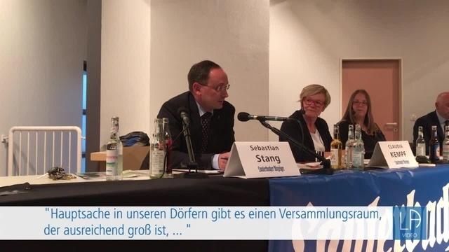 Podiumsdiskussion zur Bürgermeisterwahl in Grebenhain