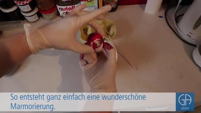 Drei Arten ein Ei zu färben