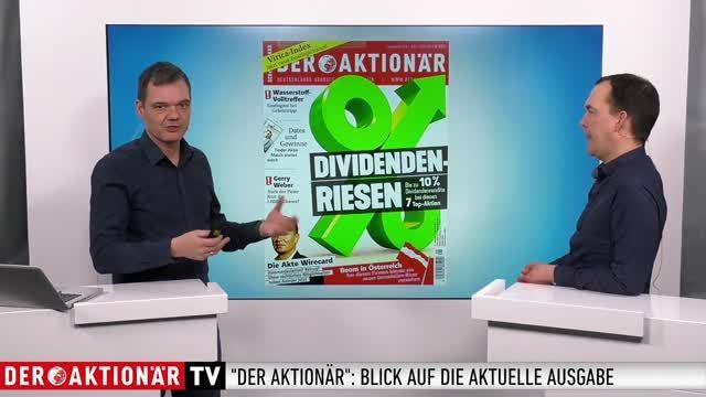 DER AKTIONÄR Nr. 08/19: Dividenden-Riesen
