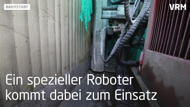 Bauarbeiten an B26-Unterführung im Osten Darmstadts