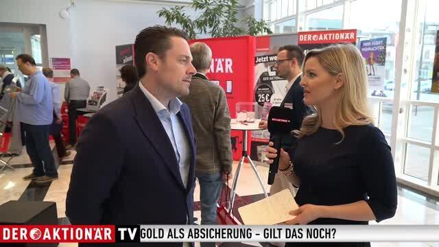 Krise, Krieg und Gold - Christoph Eibl auf dem AKTIONÄRSTAG 2019