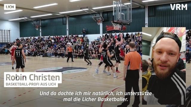 Licher Basketballer spielen vor praller Kulisse