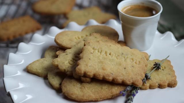 Lavendel Kekse