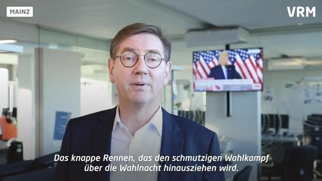 Chefredakteur Friedrich Roeingh zur US-Wahl