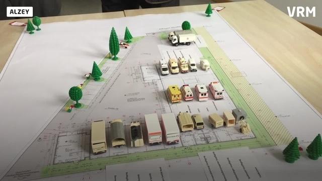 Alzey: Spatenstich für Katastrophenschutzzentrum