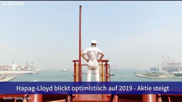 Aktie im Fokus: Hapag-Lloyd legen nach optimitischem Ausblick zu