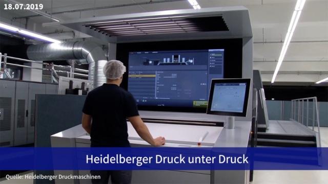 Aktie im Fokus: Heidelberger Druck unter Druck