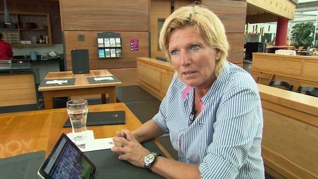Fußballkommentatorin Claudia Neumann