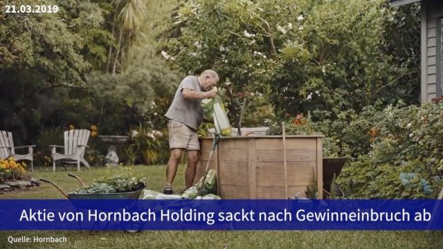 Aktie im Fokus: Hornbach Holding sackt nach Gewinneinbruch ab