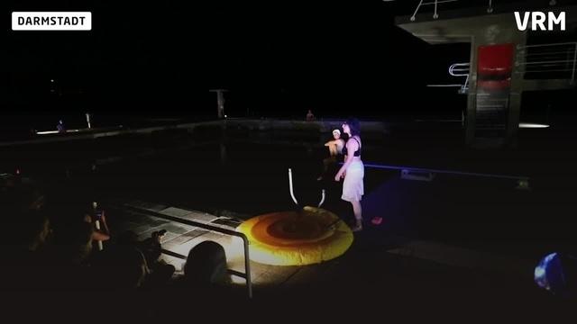 Eröffnung des Sprungturmfestivals am Woog
