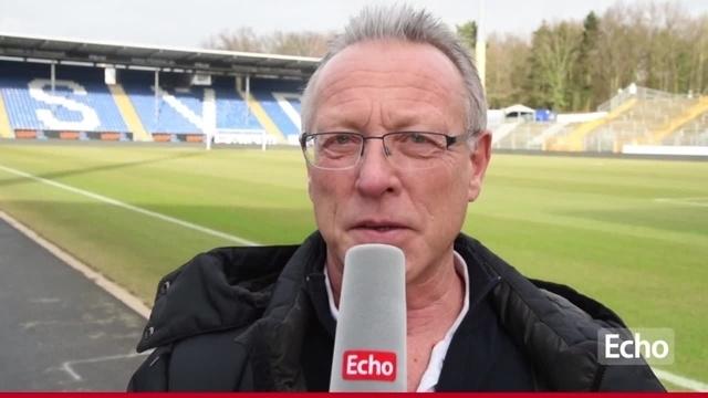 Jens-Jörg Wannemacher vor dem Derby des SV Darmstadt 98 gegen Eintracht Frankfurt