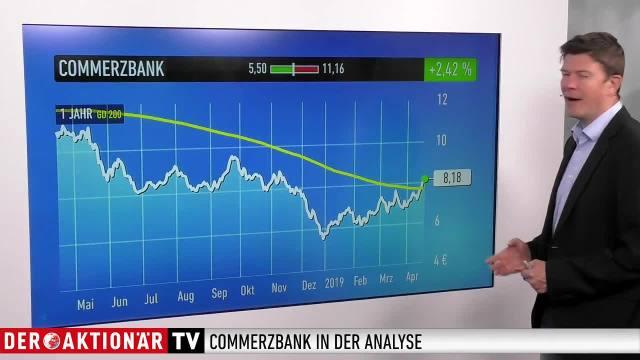 Trading-Tipp: Commerzbank - neue Fusionsgerüchte treiben Aktie
