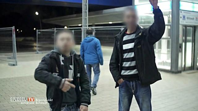 Jugendliche in Hamburg Billstedt
