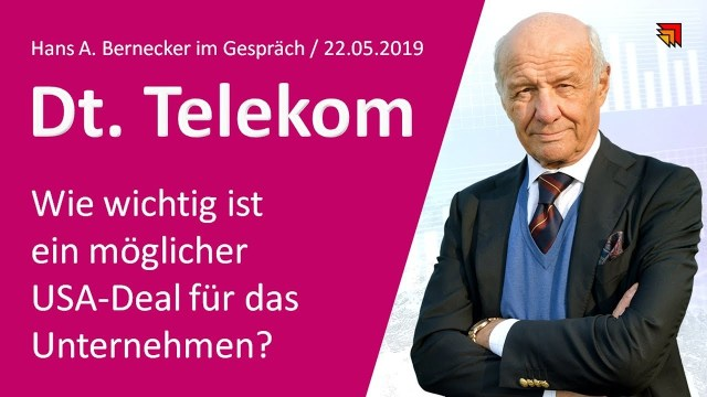 Dt. Telekom - wie wichtig ist ein USA-Deal?