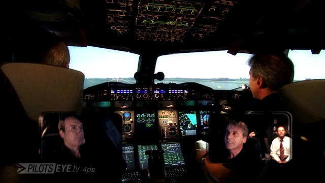 Emergency-Training im A380-Simulator