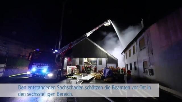 Großbrand in Freiensteinau