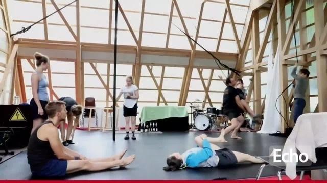 Compagnie Xir aus Darmstadt mit neuem Stück am Osthang